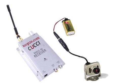 دوربین مداربسته کوچک بیسیم با نصب آسان